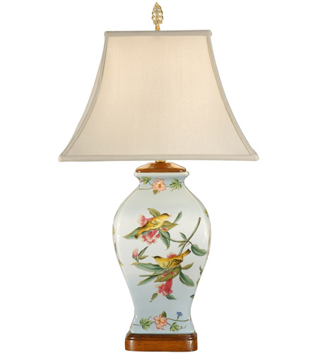Wildwood Lamps Tropical Birds Table Lamp 9106 photo