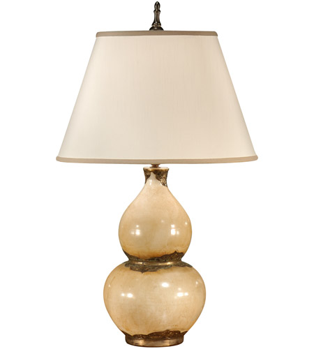 Wildwood Lamps Crackle Gourd Vase Table Lamp In Crackle Earthenware
