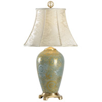 Wildwood Lamps Hidden Pattern Table Lamp in Hand Painted Kutani Porcelain 1027 photo thumbnail