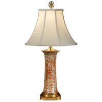 Wildwood Lamps Flower Spill Table Lamp in Antique Bronze 1110 photo thumbnail