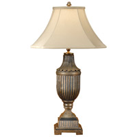 Wildwood Lamps Fluted Urn Table Lamp in Hand Colored Faux Bronze 1151