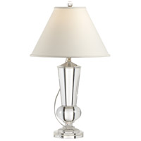 1152 Wildwood Wildwood 28 inch 100 watt Clear Table Lamp Portable Light