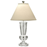 Wildwood Lamps Crystal Urn Table Lamp in Solid Crystal 1153