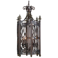 Wildwood Lamps Lantern Pendant in Wrought Iron 1171