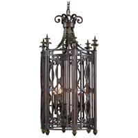 Wildwood Lamps Lantern Pendant in Wrought Iron 1171 photo thumbnail