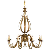 Wildwood Lamps Signature Chandelier in French Gold On Iron 1180