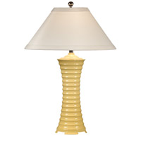 Wildwood Lamps Ribbed Vase Table Lamp in High Gloss Lacquer 11870 photo thumbnail