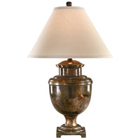 Wildwood Lamps Signature Table Lamp in Burnished Solid Brass 12009