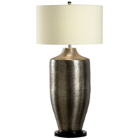 Wildwood 12511-2 Discovery 100 watt Antique Nickel Table Lamp Portable Light