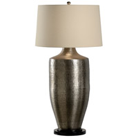 Wildwood 12511 Discovery 39 inch 100 watt Antique Nickel Table Lamp Portable Light