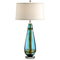 Wildwood 12525 Discovery 30 inch 100 watt Nickel Accents Table Lamp Portable Light