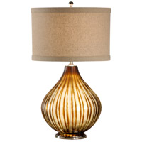 Wildwood Lamps 12526 Discovery 27 inch 100 watt Polished Nickel Base Table Lamp Portable Light