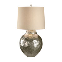Wildwood Lamps Discovery 1 Light Crinkle Dimple Table Lamp in Cast Aluminum Alloy 12540 photo thumbnail