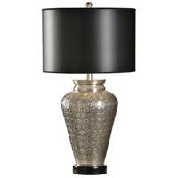 12560-2 Wildwood Wildwood 28 inch 100 watt Hand Hammered Table Lamp Portable Light
