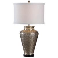 12560 Wildwood Wildwood 28 inch 100 watt Hand Hammered Table Lamp Portable Light