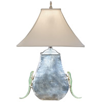 Wildwood Lamps Leaping Lizzard Table Lamp in Hand Applied Crystal Lizzards 13037