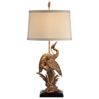 Coastal 38 inch 100 watt Old Gold Table Lamp Portable Light