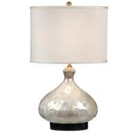 Wildwood Lamps Shells Bottle Table Lamp in Hand Applied Capiz Shell 13117