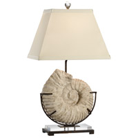 Wildwood 13140 Coastal 32 inch 100 watt Cast Stone - Textured Table Lamp Portable Light