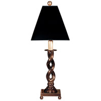 Wildwood Lamps Twist In Bronze Table Lamp in Hand Finished Cast Brass 137