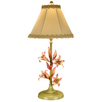 Wildwood Lamps The Weinmann Lily Table Lamp in Ironwork 14073