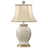 Wildwood Lamps Georges Grape Vines Table Lamp in Ambered Silver Leaf 14152