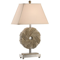 Mount Vernon 32 inch 100 watt Aged Stone Table Lamp Portable Light