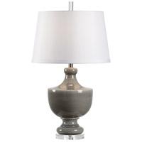 Wildwood 14192 Gate Finial 30 inch 100 watt Slate Glaze Table Lamp Portable Light