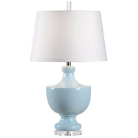 Wildwood 14193 Gate Finial 30 inch 100 watt Powder Glaze Table Lamp Portable Light