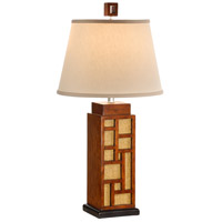 Wildwood Lamps Maze And Cane Table Lamp in Craftsman Made And Finished 15606 photo thumbnail