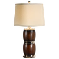 Wildwood Lamps Bahama Barrels Table Lamp in Craftsman Made And Finished 15612
