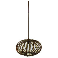 Wildwood Lamps Bamboo Chandelier in Aged Bamboo 15657 photo thumbnail