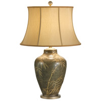 Wildwood Lamps Delicate Bamboo Table Lamp in Champagne Finish Mounting 15663