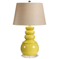 Wildwood Lamps Floats On Top Table Lamp in Artist Colored Composite Vase 15669-2