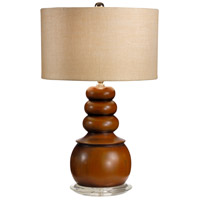 Wildwood Lamps Floats On Top Table Lamp in Craftsman Turned And Finished Wood 15671-2 photo thumbnail