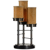 Wildwood Lamps Triple Upright Table Lamp in Old Bronze On Brass Finish 15682 photo thumbnail