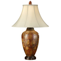 Wildwood Lamps Flandreau Table Lamp in Hand Colored Porcelain 16077
