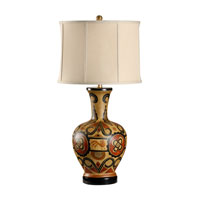 Wildwood Lamps Museum of New Mexico 1 Light Hand Painted Tonala Table Lamp 16112 photo thumbnail