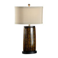 Wildwood Lamps Museum of New Mexico 1 Light Osho Table Lamp in Ebony 16121