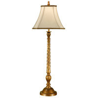 Wildwood Lamps Twist On Column Table Lamp in Hand Finished 17106