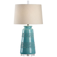 Aqua Glaze Ceramic Table Lamps