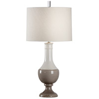 Wildwood 17151 Vietri 35 inch 100 watt Aged Cream/Gray Glaze Table Lamp Portable Light