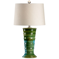 Amalfi 30 inch 100 watt Hand Sculpted Ceramic Table Lamp Portable Light
