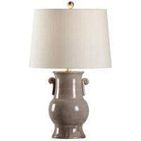 Wildwood 17175 Luca 25 inch 100 watt Grey Table Lamp Portable Light