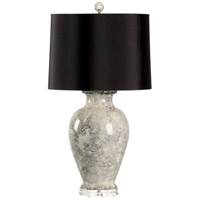 Argento 32 inch 100 watt Black and Grey Table Lamp Portable Light