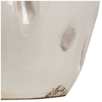 Wildwood 17206 Dimples 24 inch 100 watt Aged Cream and Taupe Glaze Table Lamp Portable Light, Small 17206-B.jpg thumb