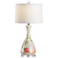 Wildwood 17223 Vietri 31 inch 100 watt Cream/Multi Glaze Table Lamp Portable Light