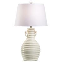 Wildwood 17225 Vietri 33 inch Cream Glaze Table Lamp Portable Light