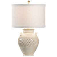 Wildwood 17237 Vietri 26 inch 100.00 watt Cream Glaze Table Lamp Portable Light, Large