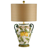 Wildwood Lamps Limoni Table Lamp in Hand Decorated Fired Ceramic 17705-2